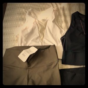 NWT workout clothes